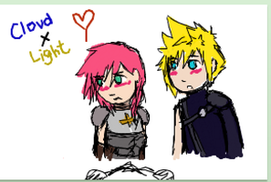 iScribble Fun: Cloud x Lightning by Nek0Nerd0
