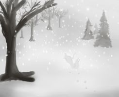 Lost In the Snow by Sadistic-Half-Demon