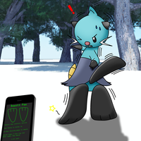 Dewott Paws Forced to Dance by Alphaws