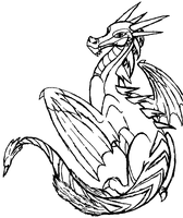 .:A Dragon OC:. by WolfKat777