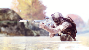 Calm down and Quietly .. in BF4 by sHAAkurAs