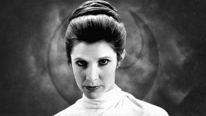 Carrie Fisher Princess Leia XLVI by Dave-Daring