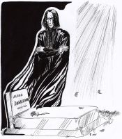 Snape - HBP SPOILER by The-Black-Panther