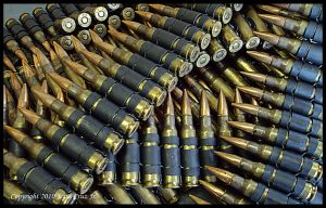 M240 Bullets by urnightmare