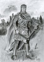 Robert the Bruce Drawing by Bilgekhan