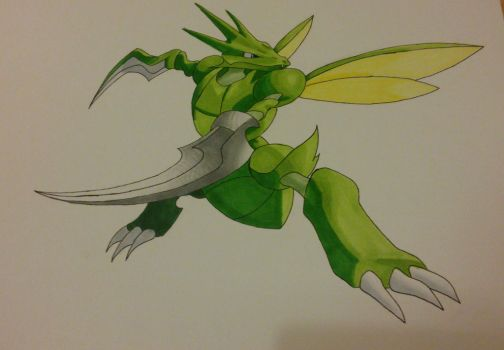 scyther by Shadow-Storm99