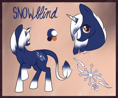 Snowblind Ref Sheet  Outdated by StyxLady