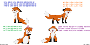 What Does The Fox Say? by SweetKittyCat