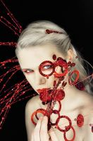 Red Series 3 by laurna