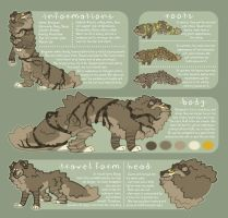 Shegoran reference sheet 2014 by Shegoran
