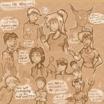 Webcomic Fanart 2 by Elyandarin