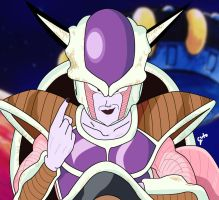 Frieza 1st form by PudimArts