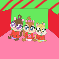 Baby Chipettes Christmas by Bokeol
