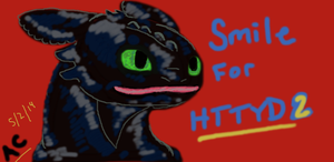 Smile For Httyd 2 by LoneWolf510