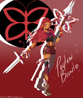 RWBY OC: Peyton Bronte by BlissClouds