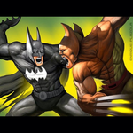 Batman vs Wolverine by SketchMonster1