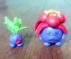 from Oddish to Gloom by mypokeart