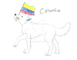 Colombia For The Win!!! by Wolfspiritofrain