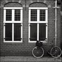 Etude with a bike by aponom