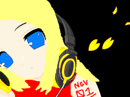 Me as a vocaloid by ArtistGirl147