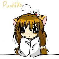 Puchiko is thinking... by yana-chan