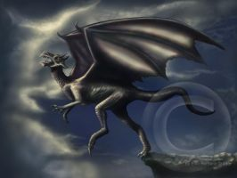 Flying Dragon by MrsGraves