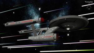 Five year mission: NCC-1701 by TrekkieGal