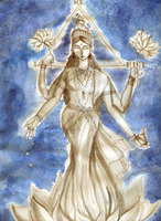 Dhanalakshmi by Flying-Glove