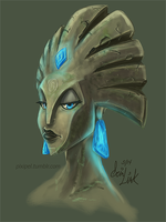 Wildstar Granok by DigiartLink