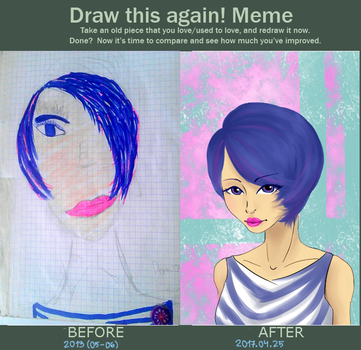 Draw This Again Meme by Hichigo-senpai