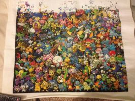 Pokemon All Gens - 5th row WIP by samarin6