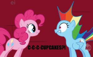 Rainbow Dash: CUPCAKES by Closer-To-The-Sun