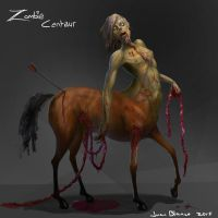Zombie Centaur by guang2222