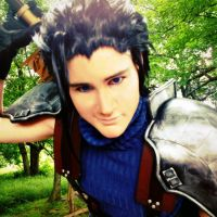 Zack Fair Cosplay by RobbieDGrimm