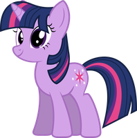 Standing Twilight Sparkle by UmbraVivens