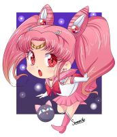 Sailor chibi moon by keitenstudio