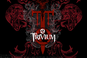 Trivium Wallpaper by Wolblade