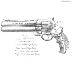 "Colt Super Python ""Hydra"" by 9MR-SELF-DESTRUCT"