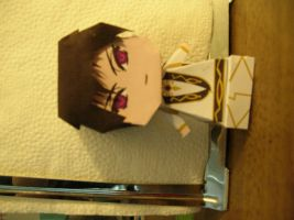 Lelouch papercraft photo 2 by ryoukamui