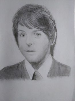 Young Paul McCartney Drawing by Rooivalk1
