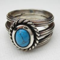 Photo update Turquoise ring by nellyvansee