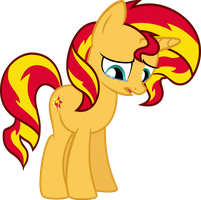Sunset Shimmer so sorry by Pilot231