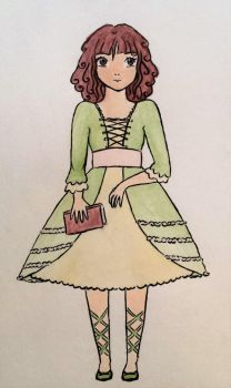 Primula girl by DevilishEvelyn