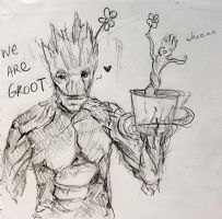 We Are Groot by Obliesk