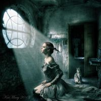 Drawn to the light by katmary