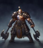 Barbarian guy by Sam-Peterson
