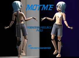MOTME Forgoten Project Z-013 Zelpher by CrazedVampireGirl
