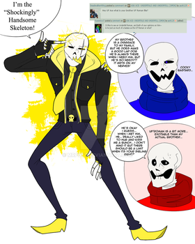 Ask UF and UTAce- Underfell Roman by putt125
