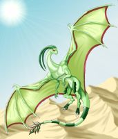 Flygon: The Desert Spirit