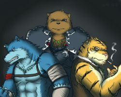 The Ferocious Trinity by ShinodaHamazaki